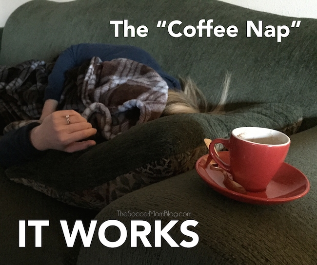 Why you should drink coffee BEFORE a nap