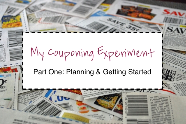 My experiment trying couponing to see if coupons can really save our family money on groceries.