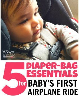 Five Essentials for Stress-Free Airplane Travel with a Baby