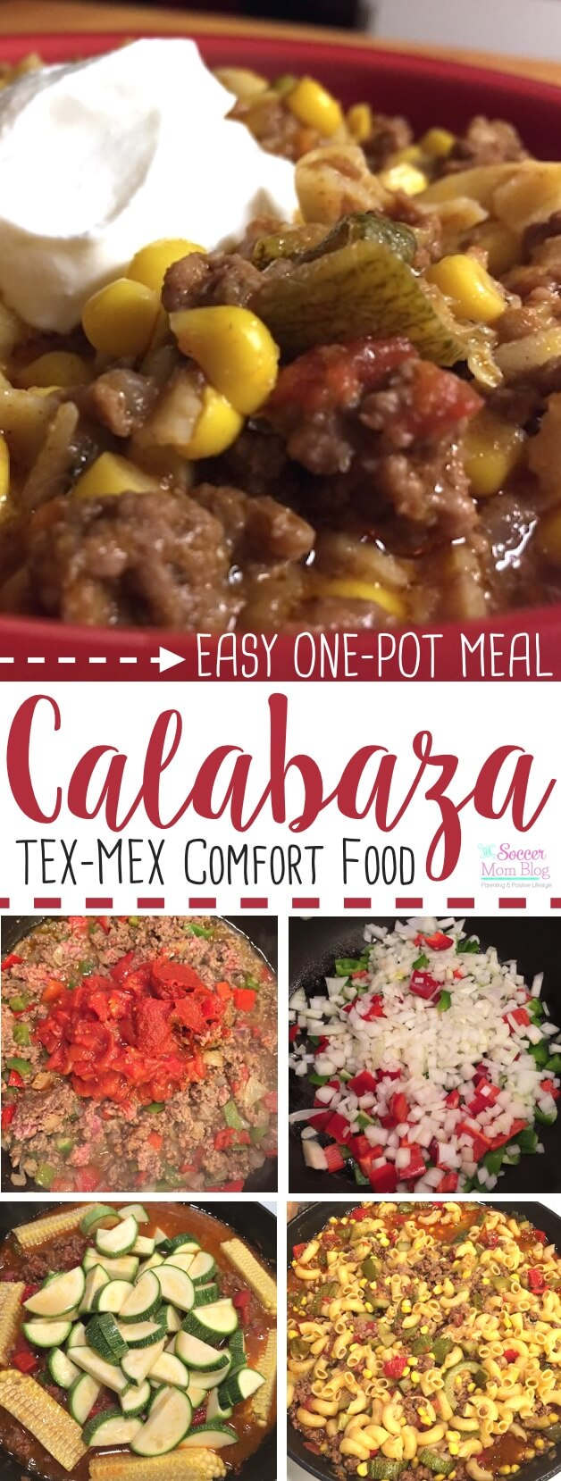 The Tex-Mex take on Goulash - Calabaza stew is thick, hearty, and delicious - plus it's easy to make: a one-pot meal! The perfect comfort food soup recipe for fall and winter.