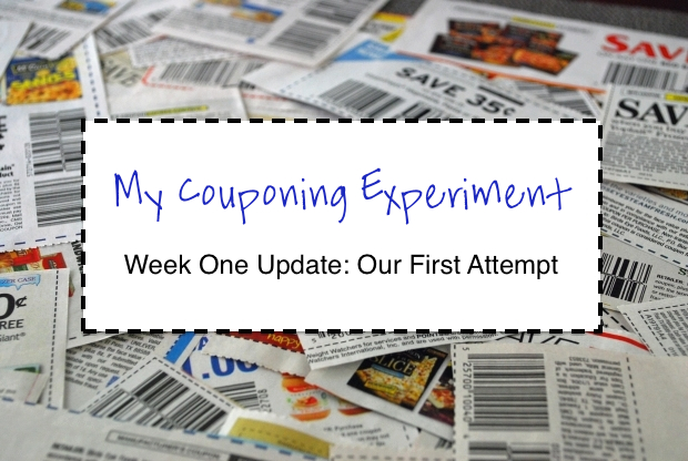 My Couponing Experiment: Week One