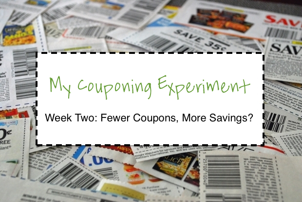 My Couponing Experiment: Week 2