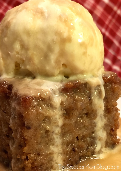 The BEST Sticky Toffee Pudding Cake Recipe - It's out of this world!! A crowd-pleasing dessert and holiday treat, can be made gluten free and dairy free.