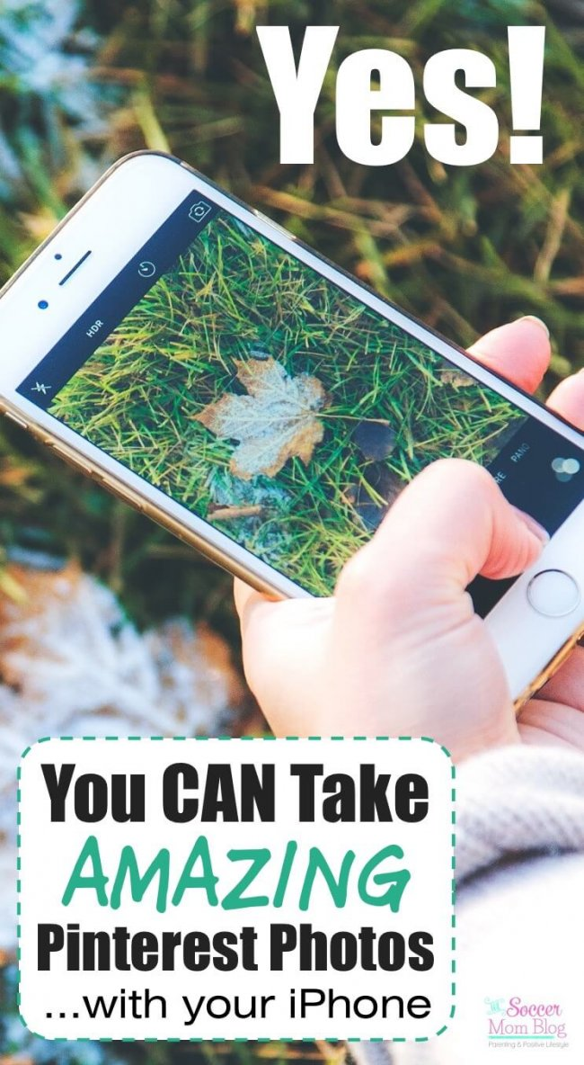 You don't need a fancy camera to make eye-catching and effective graphics that get page views! 4 pro tips to take better Pinterest photos with your iPhone that send traffic to your blog!