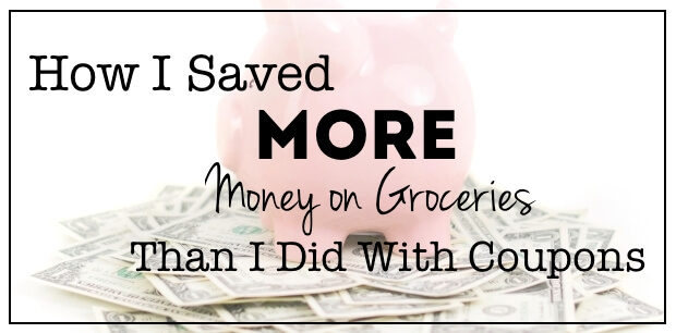 More Money Saving Tips: My Couponing Experiment Follow-up