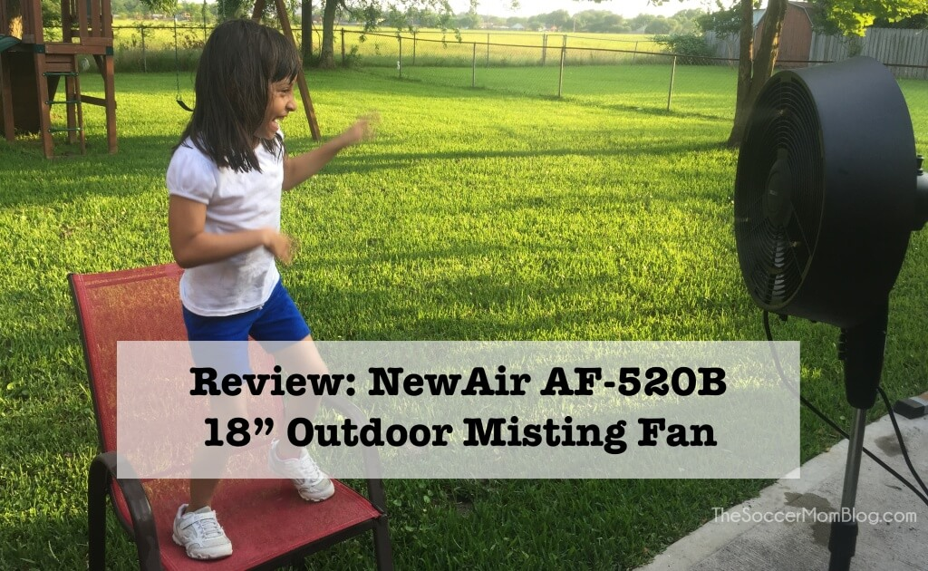 Misting Fans Texas : Beating the texas heat newair af b quot outdoor misting
