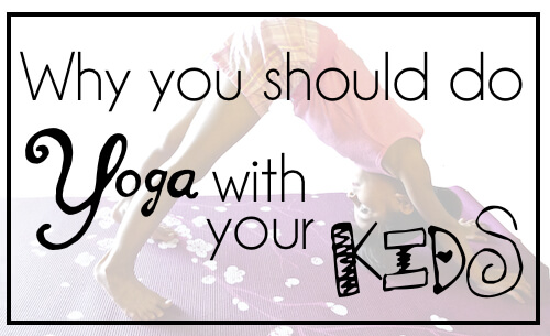 Yoga For Kids: 10-Minute Photo Tutorial