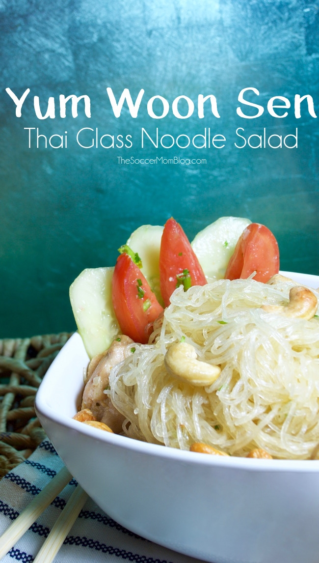 I love this fresh and healthy Thai glass noodle salad! An light and easy summer recipe that's perfect for lunch or dinner.
