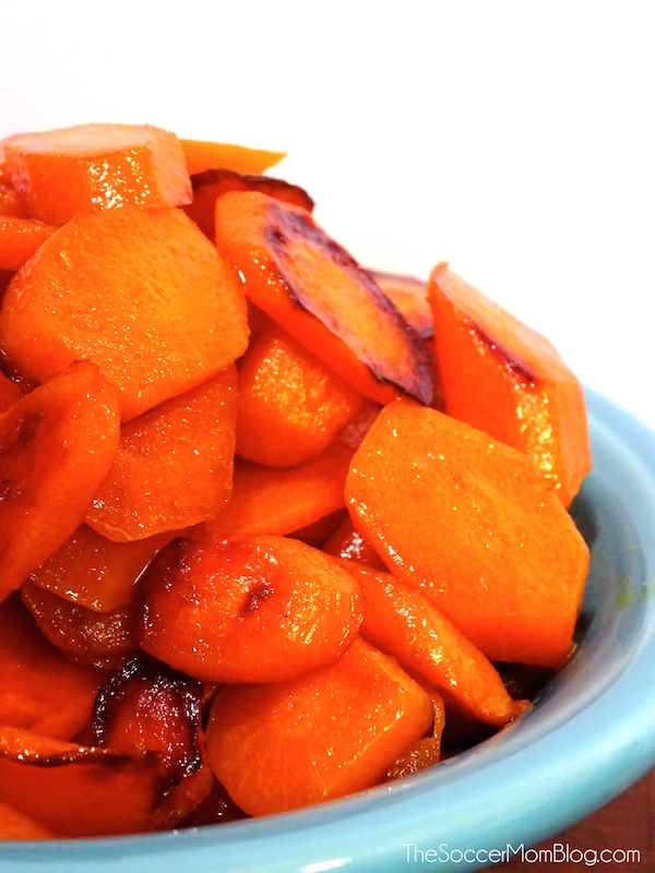 2-Ingredient Ginger Ale Glazed Carrots (with VIDEO)