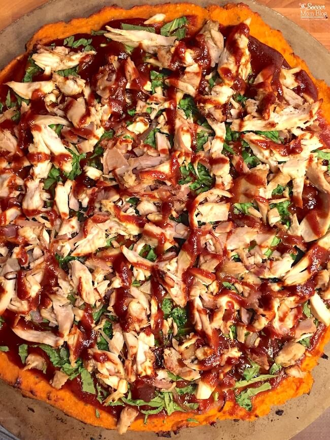 Healthy Barbecue Chicken Pizza