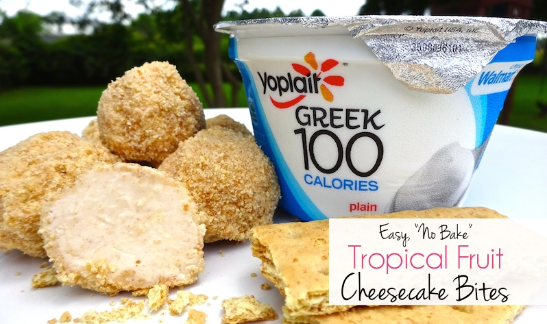 Combine wholesome Yoplait® Greek Yogurt with smooth cream cheese, tangy tropical fruit flavors, and a crunchy graham cracker crust, and you've got a sweet snack or dessert you can feel good about eating and sharing with your family! #ad