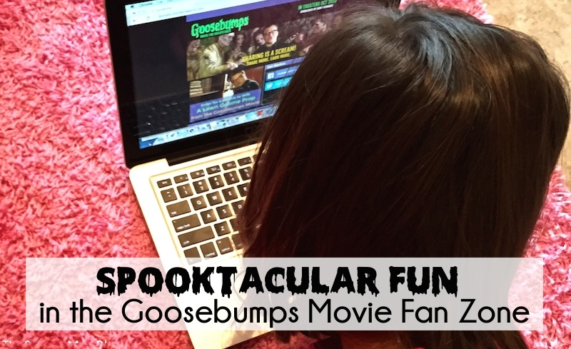 Enter to win spooktacular prizes in the #GoosebumpsMovie Fan Zone with exciting monthly challenges! #sponsored