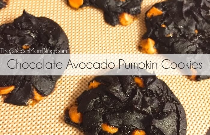 Chocolate Avocado Pumpkin Cookies with Salted Caramel Chips - The ...