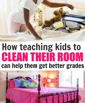 Studies Reveal: Kids that Clean their Own Room Do Better in School