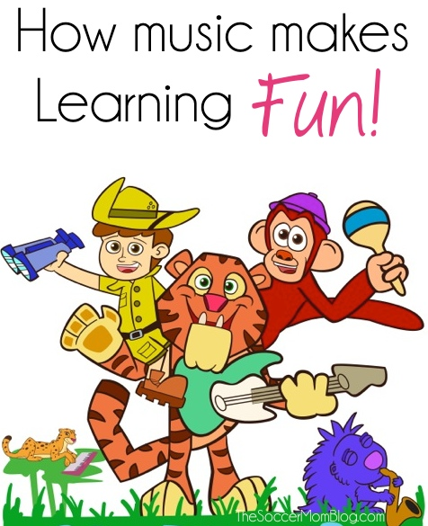 Some of the ways music helps kids learn plus a introduction to Jungle Jim, which teaches kids about wildlife through song AND a $100 Toys R Us GC giveaway!