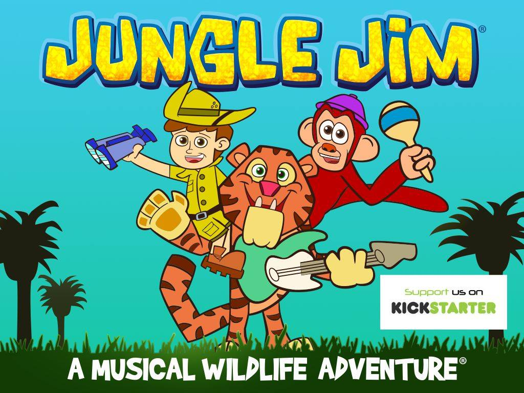 Jungle Jim wildlife learning music videos for kids