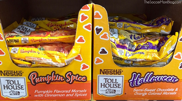 Nestle Halloween and Pumpkin Spice Morsels at Walmart