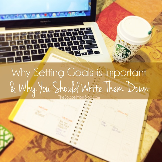 Why Setting Goals is Important & My October To-Dos
