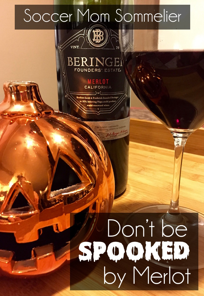 Why I love Merlot and one of my favorite new budget-friendly wine picks: Beringer Founder's Estate Merlot.