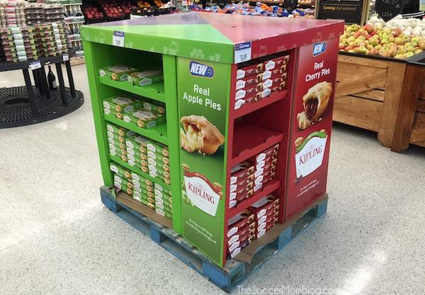 Mr Kipling pies at Walmart