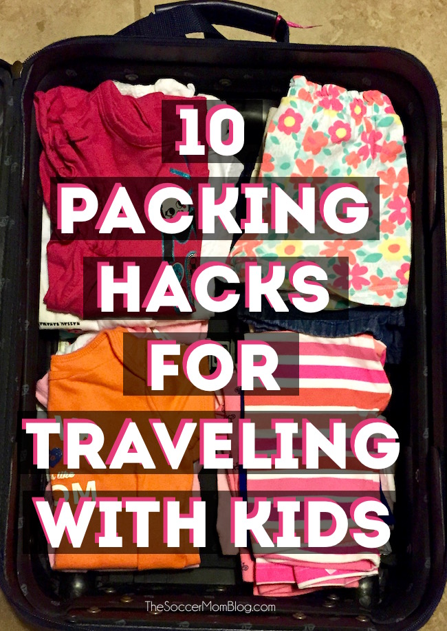10 packing tips for traveling with kids to make your next family vacation a breeze!