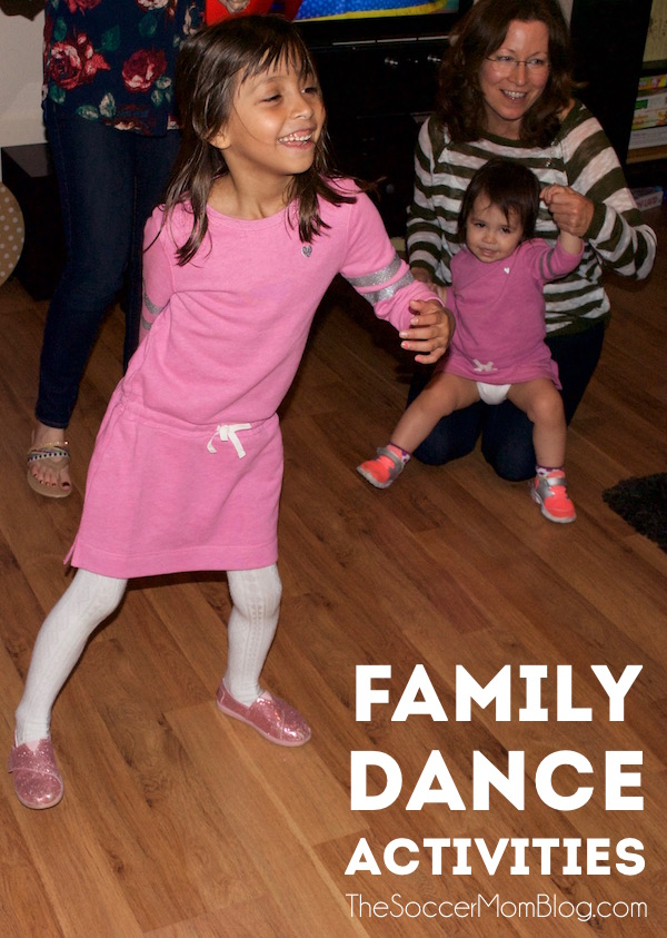 Staying fit as a family can still be a blast when the weather keeps you stuck inside! Try these dance activities to keep moving and having fun!