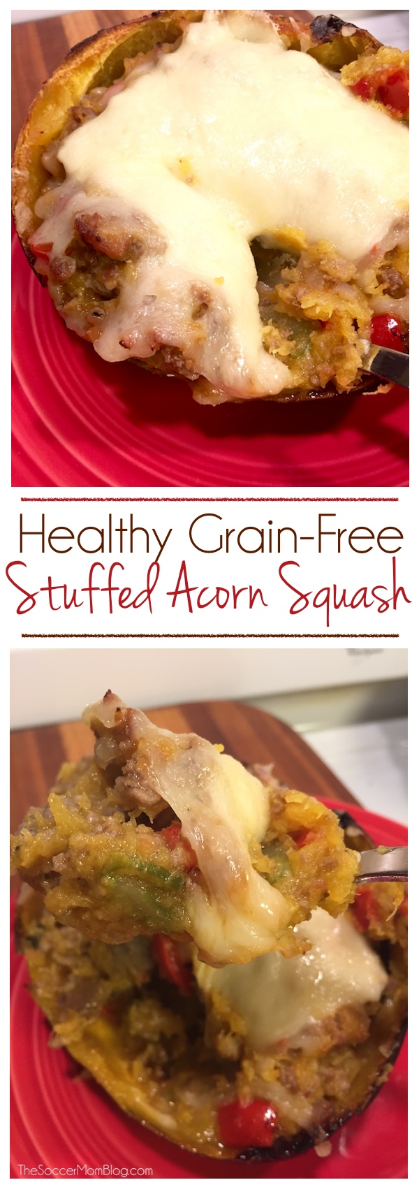 This is one of those recipes that just feels like Fall! Healthy, filling, and easy -- it would make a great Thanksgiving side dish!