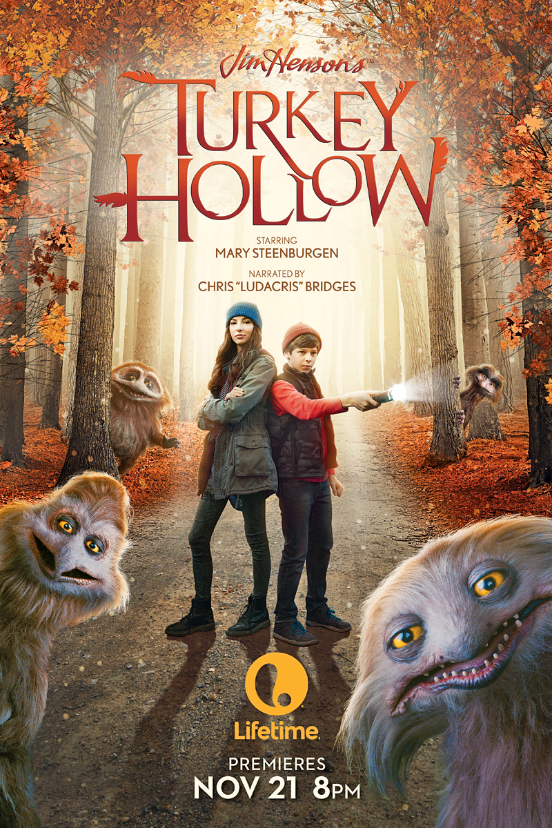 Jim Henson's Turkey Hollow premieres Saturday, November 21 on Lifetime