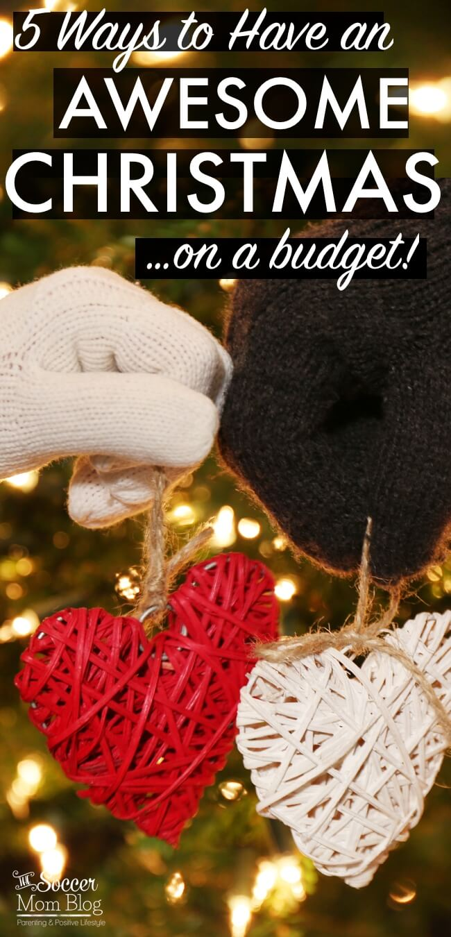 You don't have to break the bank to create a holiday to remember! Here's what one family does to have an awesome Christmas on a budget every year.