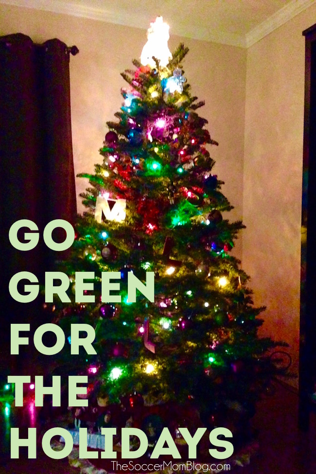The holidays are notorious for energy consumption, but you can reduce your environmental impact (and save money!) with these tips for a greener holiday!