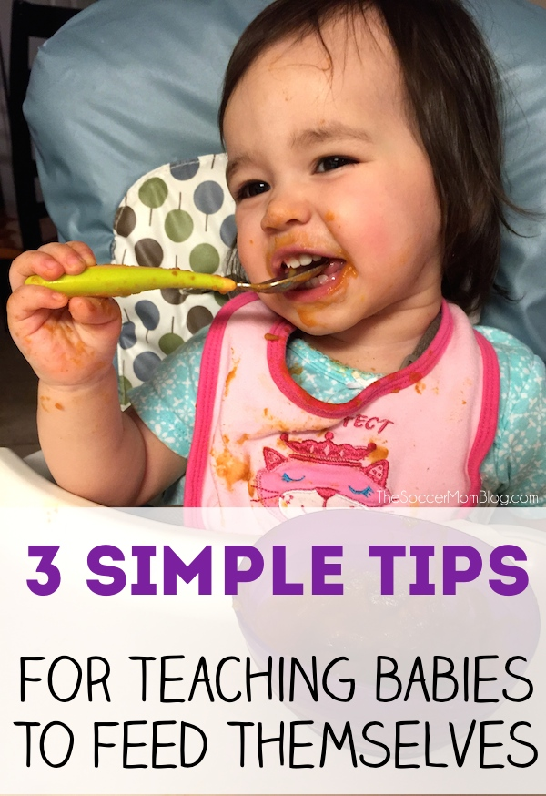Three Tips to Help Babies Learn to Feed Themselves