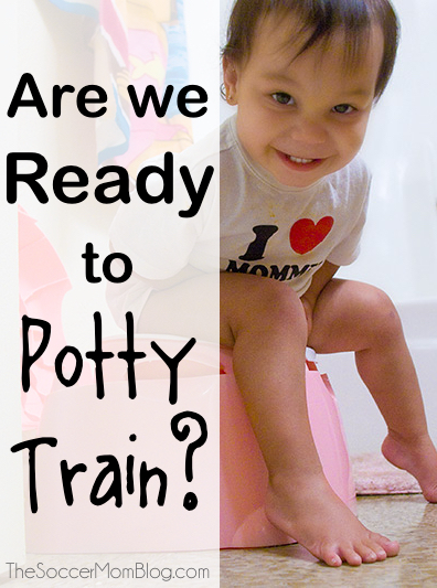 """When should I start potty training?"" Have you been wondering if your child is ready? Three things to consider and proven resources for potty training."