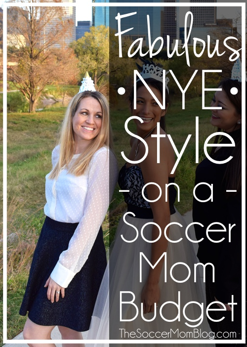 Just because you're a mom doesn't mean your style has to suffer! Look like a million bucks (without spending a fortune!) with these New Years Eve Style Tips!