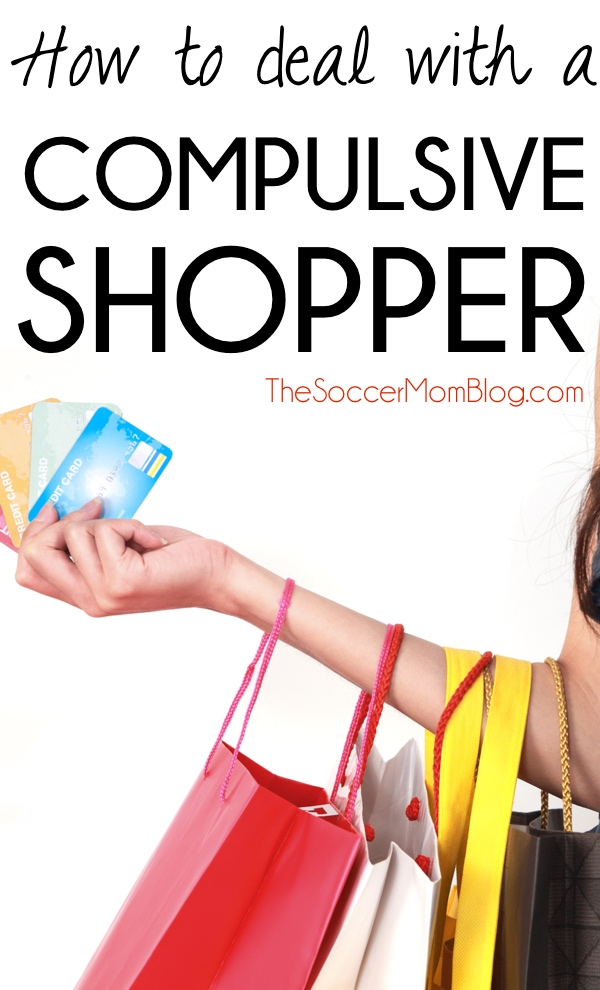 "What to do when a loved one won't stop buying ""stuff"" -- Tips for dealing with compulsive shopping, reclaiming your space, and avoiding hurt feelings. (The Soccer Mom Blog)"