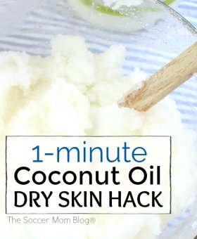 My Secret 1-Minute Beauty Hack: Coconut Oil for Dry Skin