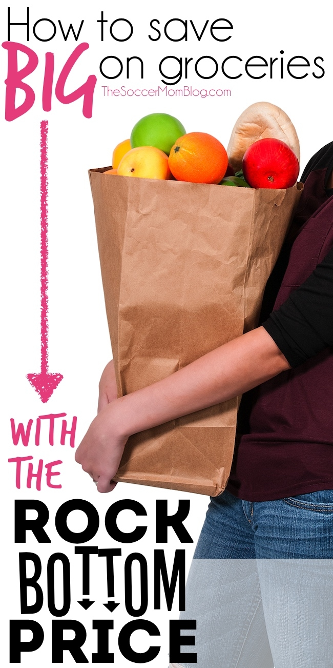 "Using the ""Rock Bottom Price"" to Save Money on Groceries"