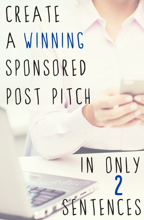 Win them over in only 2 sentences! How to write a successful sponsored post pitch, and my favorite app for bidding (and landing!) paid jobs on-the-go!