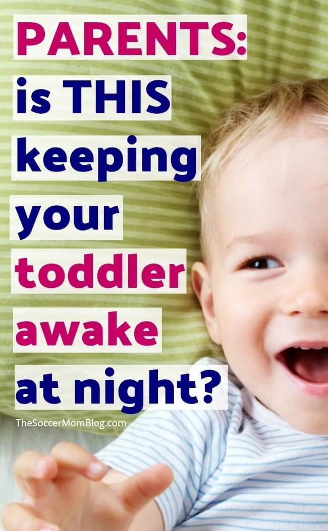 n often overlooked solution to toddler sleep issues - and it's one that parenting books won't tell you! With one simple switch, our toddler immediately started sleeping through the night!