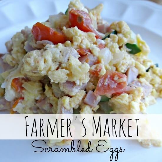 Farmer's Market Scrambled Eggs (Beauty Through Imperfection)