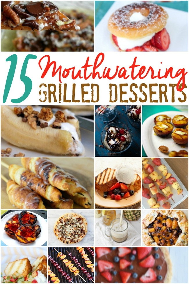 Gorgeous char, drool-inducing caramelization...these grilled desserts are the perfect way to WOW 'em at your next summer barbecue or party!