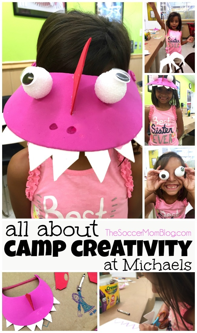 The summer craft camp for kids you don't want to miss! (And it's only $5 per session!!) All about Camp Creativity at Michaels.