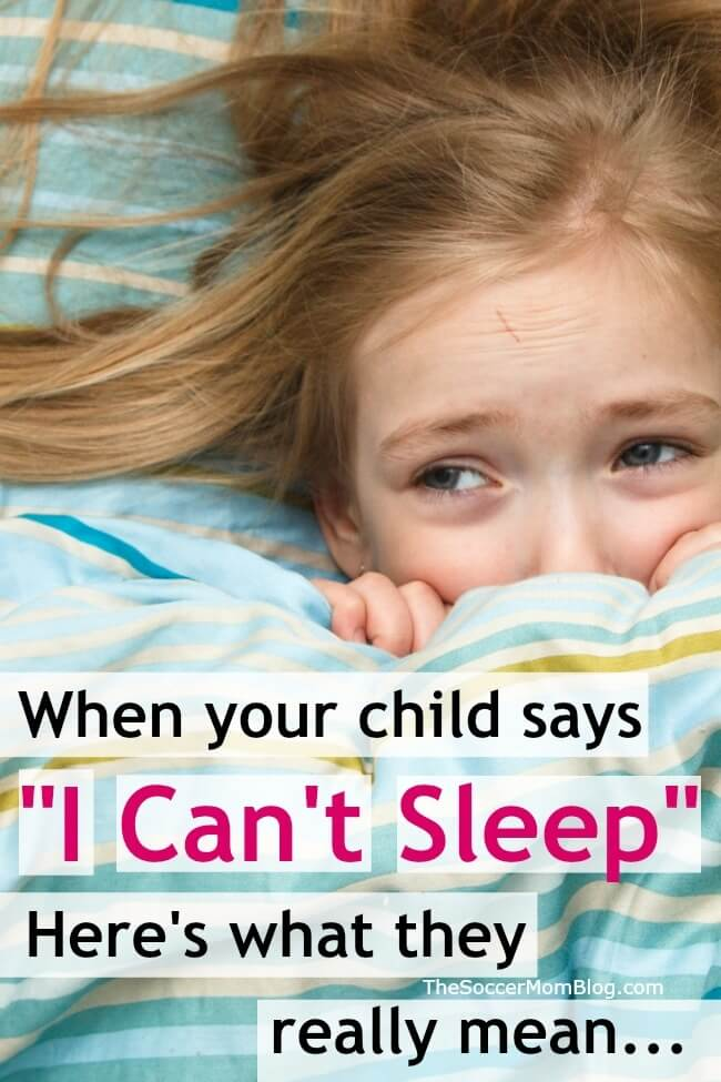 Your kids WANTS to sleep — but sometimes they just can't. Here's how to deal with child sleep anxiety and help kids fall asleep and stay asleep.