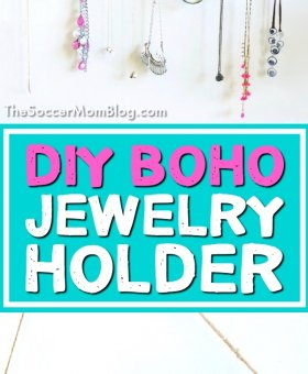 DIY Boho Jewelry Holder