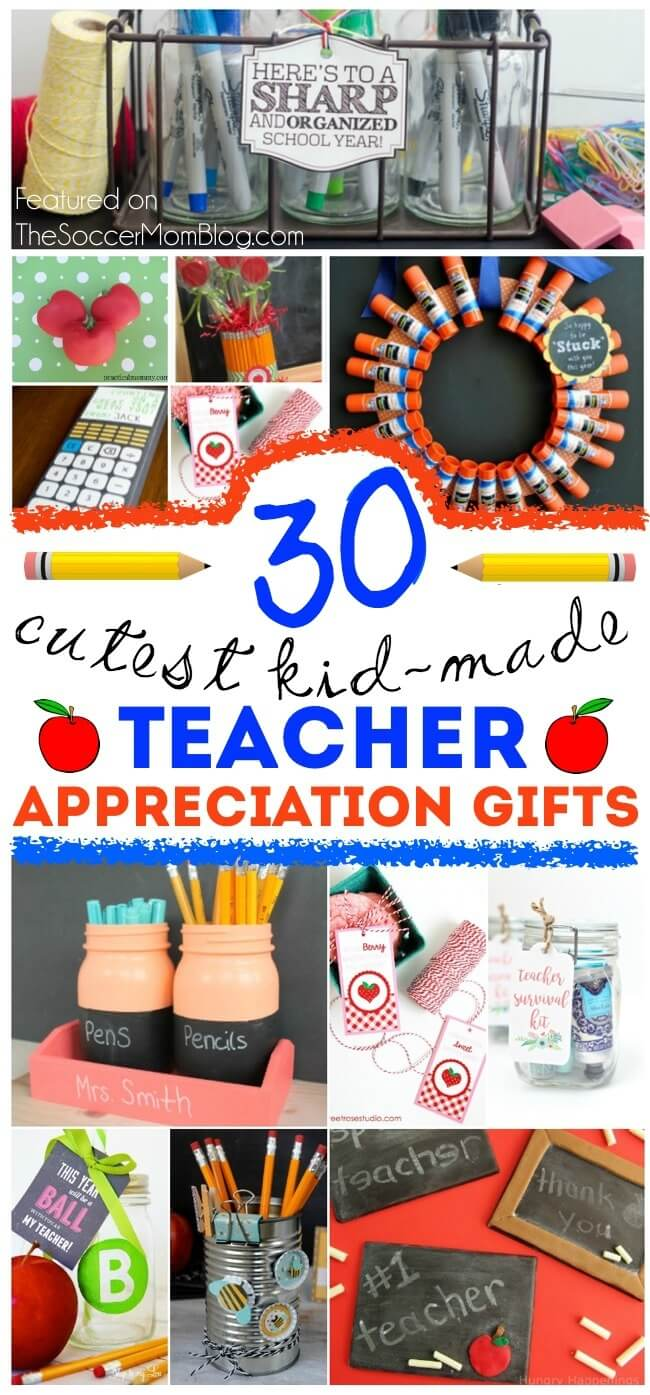 30 cute & clever kid-made teacher appreciation gifts (they'll actually use!)