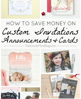 5 Ways to Save Money on Custom Invitations