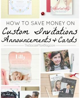 5 Ways to Save Money on Custom Invitations