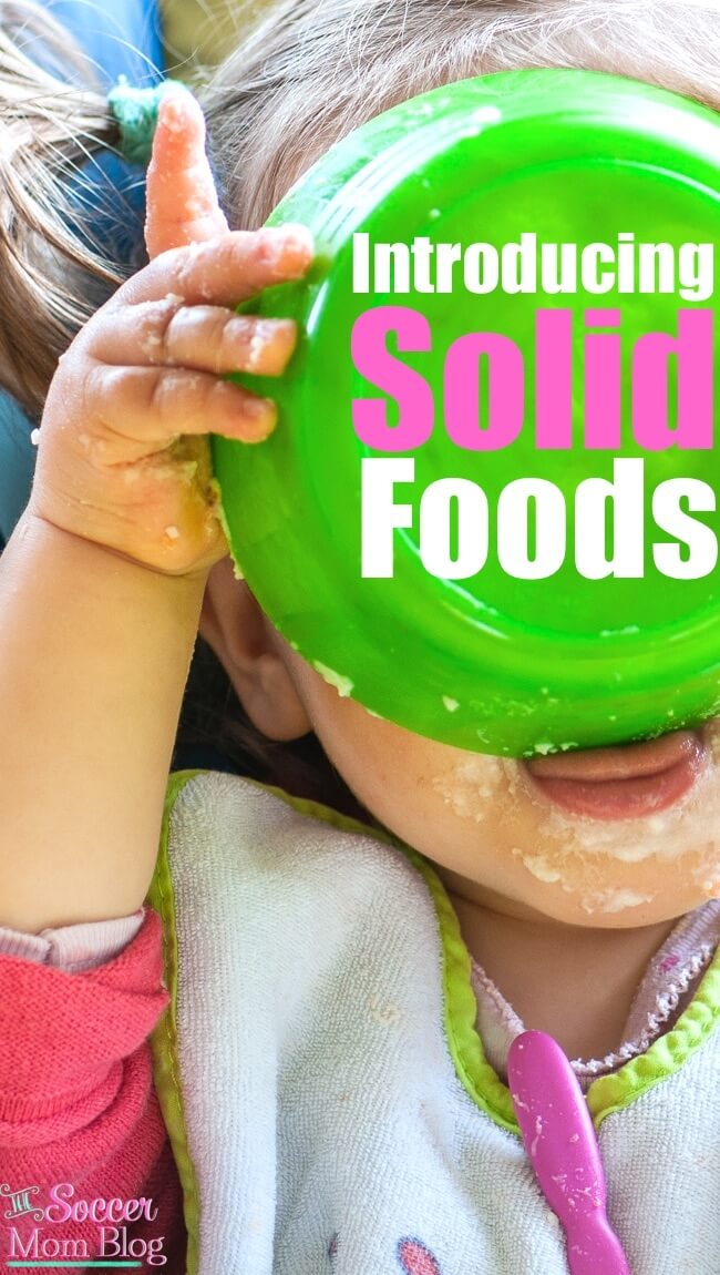 There's a LOT of conflicting information about introducing solid foods! What worked for us: first foods, vitamins, & baby-approved healthy options.
