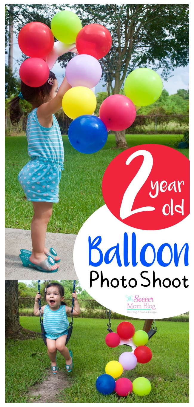 Celebrate A Milestone Birthday With Adorable Two Year Old Photos This Fun And Colorful Balloon