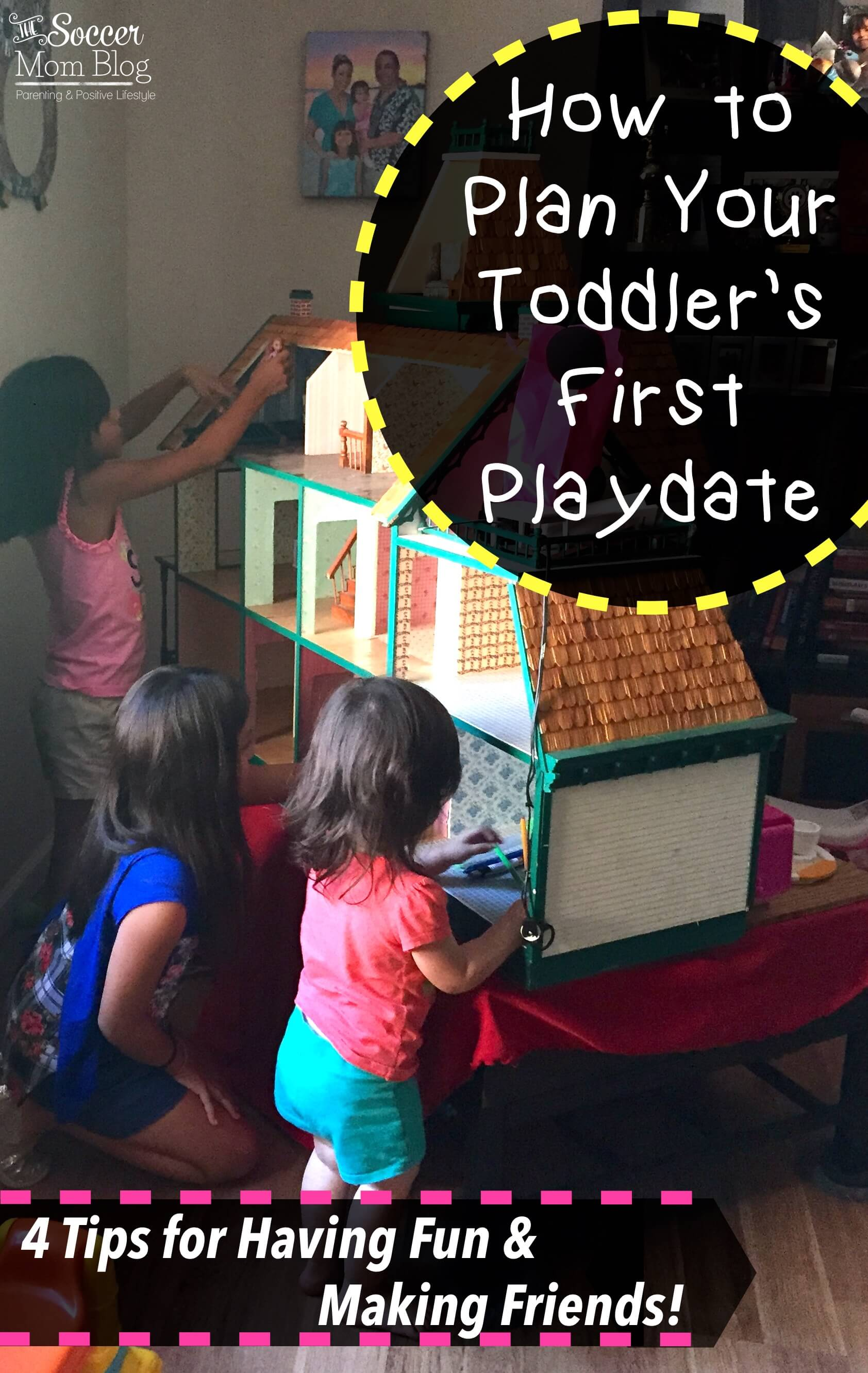 The idea of planning first playdates doesn't have to be intimidating or stressful! These four simple tricks will set you up for hours of fun and friendship for your toddler!