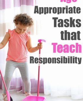 Age Appropriate Chores for Kids that Teach Responsibility